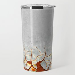 Rust and Grey Travel Mug