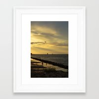 outdoor Framed Art Prints featuring outdoor by sannngat