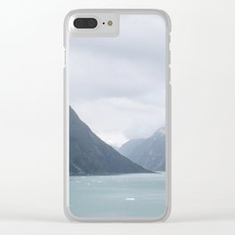 Tracy Arm Fjord Clear iPhone Case