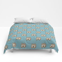 French Bulldog Loaf - Fawn Frenchie Comforters