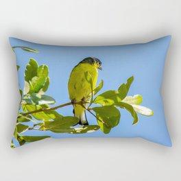 Yellow Bird - II Rectangular Pillow