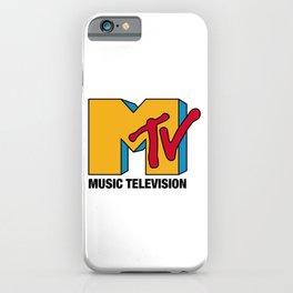 MTV Classic Logo iPhone Case