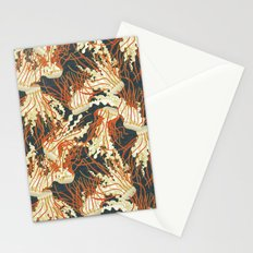 jellyfish slate Stationery Cards