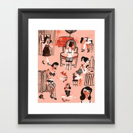 Budoir Framed Art Print
