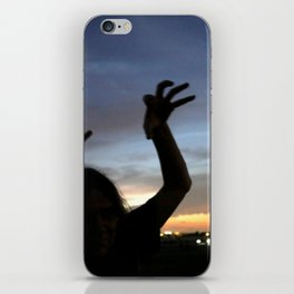 monster shadow twighlight iPhone Skin
