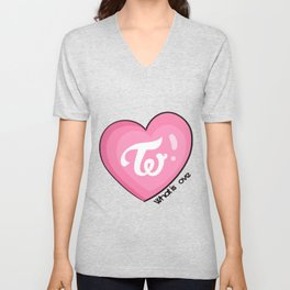 Twice what is love Unisex V-Neck