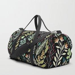 Dark Botanic Duffle Bag