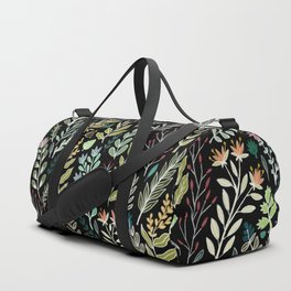 Dark Botanic Duffle Bag