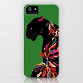 FIERCE FLOWER iPhone Case