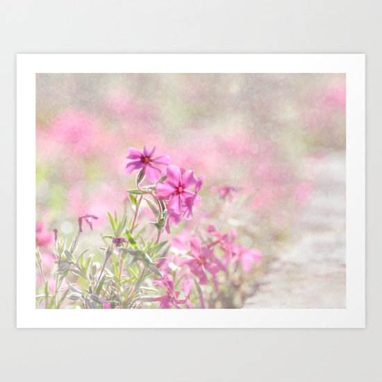 Spring Comes Gently Art Print
