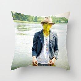 Blind Lemon Pledge Throw Pillow