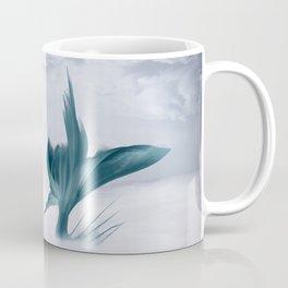 Mermaid Fish Tail, Fantasy Ocean Sea Green Coffee Mug