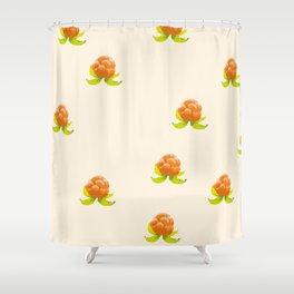 Cloudberry Cream Shower Curtain