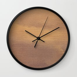 Close Up Old Painting Background Wall Clock