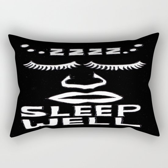Sleep Well Rectangular Pillow