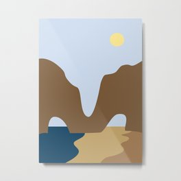 Abstract Landscape #3 Metal Print
