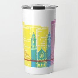 Omaha V2 skyline pop Travel Mug