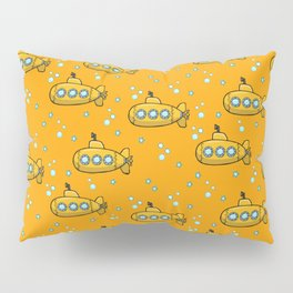 Yellow Submarine - Yellow sea  Pillow Sham