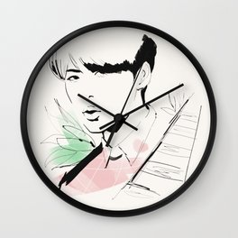 Love Me Right - Sehun Wall Clock