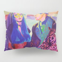 Morticia and Gomez Pillow Sham