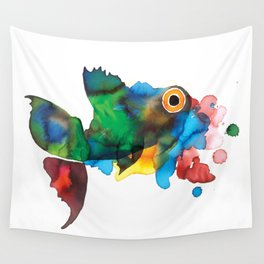 colorful fish Wall Tapestry