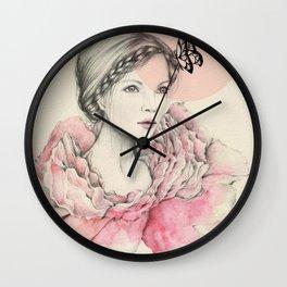 Blooming hope Wall Clock