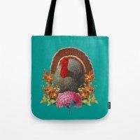 turkey Tote Bags featuring Turkey by Jose Ramirez