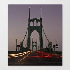 St. Johns Bridge III Canvas Print