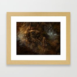 Chance Encounter with the 9th Order of Beelzebub Framed Art Print