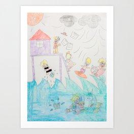 Kelly Bruneau #20 Art Print
