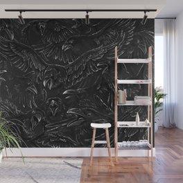 Raven Rage Wall Mural