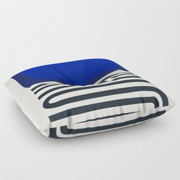 Out Of The Blue Floor Pillow