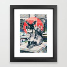 Time Traveller Framed Art Print