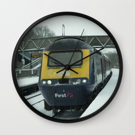 HST snow Wall Clock