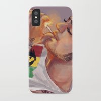 smoking iPhone & iPod Cases featuring Smoking by justsomestuff