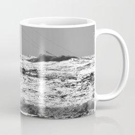 Kitesurfer at the beach Coffee Mug