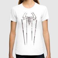 spider man T-shirts featuring Spider-Man by Charleighkat