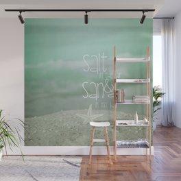 SALT &  SAND Wall Mural
