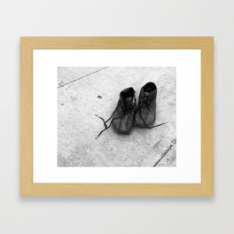 everyone has a story Framed Art Print