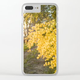 Winter flowers of Sicily Clear iPhone Case