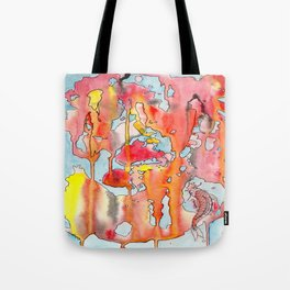 The Lonely Koi Tote Bag