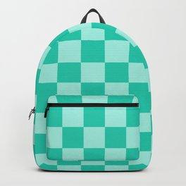 Double Mint Check - more colors Backpack