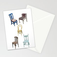 Chairs number 2 Stationery Cards