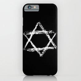 Star of David 22- Jerusalem -יְרוּשָׁלַיִם,israel,hebrew,judaism,jew,david,magen david iPhone Case