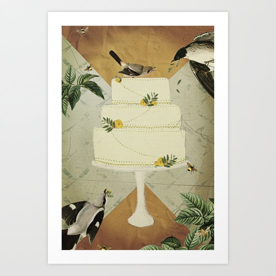 Let Them Eat Cake :: I Art Print