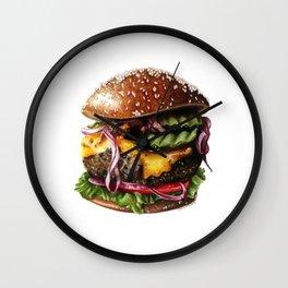 Cheeseburger Wall Clock