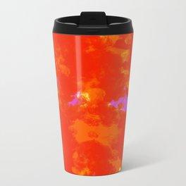 SMOKE COLOR PRINT Metal Travel Mug
