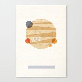 Jupiter I Canvas Print