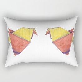 Origami Birds Rectangular Pillow