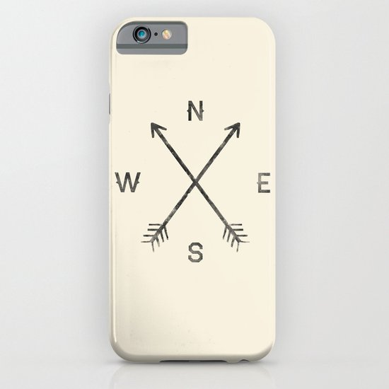 Compass (Natural) iPhone & iPod Case